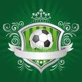 soccer design element Royalty Free Stock Photo