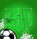 Soccer e,free copy space, vector Stock Photo