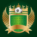 soccer emblem Royalty Free Stock Photo