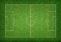 Soccer field background. Royalty Free Stock Photo