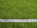 Soccer Field's Line Horizontal Royalty Free Stock Image