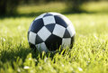 Soccer football Royalty Free Stock Photo