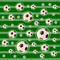Soccer or football field abstract background green Stock Photos