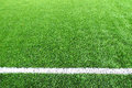 Soccer football field stadium grass line ball background texture Royalty Free Stock Photo