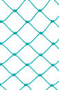 Soccer Football Goal Post Set Net Rope Detail, New Green Goalnet Royalty Free Stock Photo