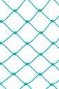 Soccer Football Goal Post Set Net Rope Detail, New Green Goalnet Royalty Free Stock Photo