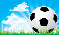 Soccer football penalty Stock Images