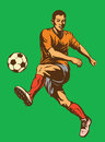 Soccer Football Player Stock Image