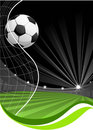 Soccer game background Royalty Free Stock Images