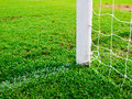 Soccer goal football Royalty Free Stock Photos