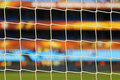 Soccer Goal Netting Stock Photography