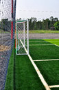 Soccer Goal Royalty Free Stock Photo