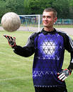 Soccer goalie Stock Photos