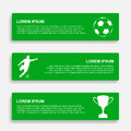 Soccer infographic template vector eps illustration Stock Image