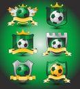Soccer logo team emblem Royalty Free Stock Photo