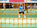 Soccer nets abstract goal net pattern background Royalty Free Stock Image