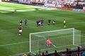 Soccer - the penalty kick Royalty Free Stock Photo