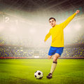 Soccer player Stock Images