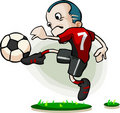 Soccer Player Cartoon Stock Photos