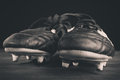 Soccer shoes Royalty Free Stock Photo