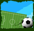 Soccer summer sport sphere black and white Royalty Free Stock Images