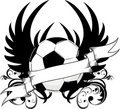 Soccer team logo Stock Image