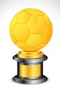 Soccer Trophy Stock Photo
