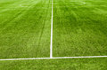 Soccerl grass field green soccer artificial Stock Photography