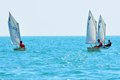 Sochi regatta in the Olympic classes Royalty Free Stock Image
