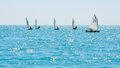 Sochi regatta in the Olympic classes Stock Photo