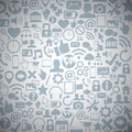 Socia Media Web Icons Vector B...