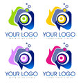 Social icon logo illustration drawing representing a that can be used as a single company or as a simbol Stock Photography