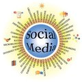Social Media business relationship and network Royalty Free Stock Photos