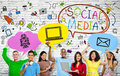 Social Media Concepts With A M...