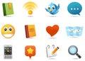 Sociální média ikony 1