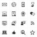Social Media Icons Royalty Free Stock Photography