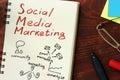 stock image of  Social media marketing SMM