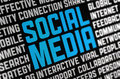 Social Media Poster Royalty Free Stock Photography