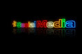 Social Media Sign Royalty Free Stock Photo