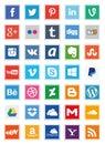 Social Media Square Icons (Set 2)