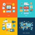 Social media und network connection konzept Lizenzfreie Stockfotografie