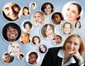 Sociálna sieť z podnikateľka