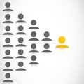 Social network people group abstract background Stock Images