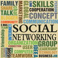 Social networking Royalty Free Stock Photography