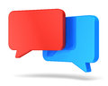 Social networking and chat concept Royalty Free Stock Images