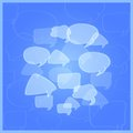 Social Networking Media Chat Icons. Royalty Free Stock Images