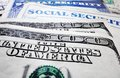 Social Security cards and money Royalty Free Stock Images