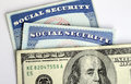 Social Security and retirement income Royalty Free Stock Photo