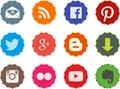 Social web buttons 1.0