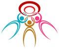 Society logo Royalty Free Stock Photo